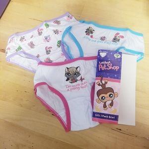 LPS littlest pet shop underwear panty briefs